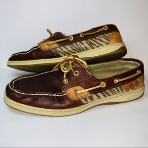 Sperry top-sider boat shoes size 10